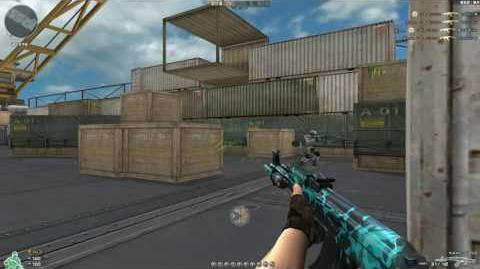 Cross Fire China -- AK47-Knife QQ Browser!