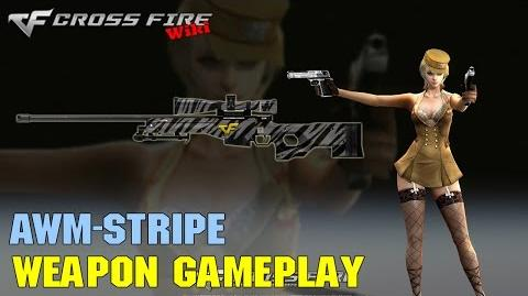 CrossFire - AWM Stripe - Weapon Gameplay