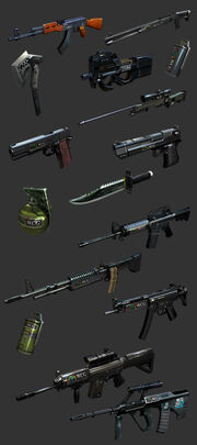 WCG WEAPON SET CF