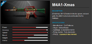 M4a1 xmas eu