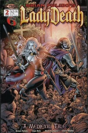 Brian Pulido's Lady Death A Medieval Tale Vol 1 2