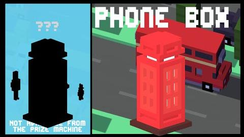 CROSSY ROAD PHONE BOX Unlock! NEW Secret Character UK Update Android, iOS (iPhone, iPad)