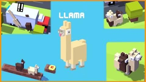 Llamas on Special! Crossy Road