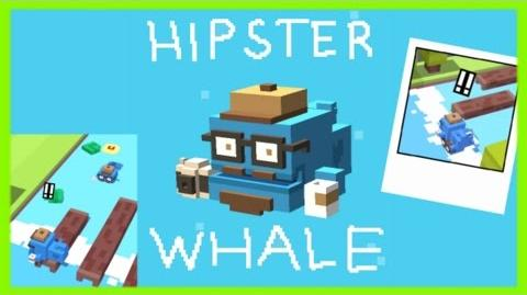❀ Hipster Whale ❀ Special! Unlock, Find Him, See the Hipster Twin Brothers & more on Crossy Road-0