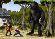 Momo the missouri monster by loneanimator-d5mp104