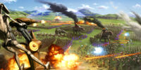 Battle at the Grassy Plains