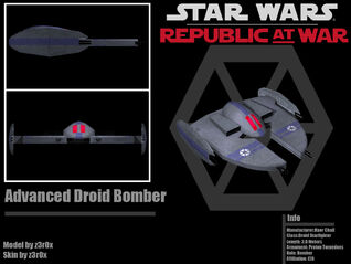 Advanced Droid Bomber