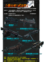 Ksg kcobra hk23 mg3 mk48 as50 taiwan resale poster