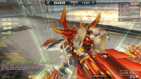 CSO Weapon Red Dragon Cannon (Zombie Scenario)
