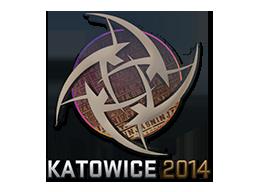 Sticker-katowice-2014-nip-holo