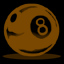 File:8ball1 brown.png