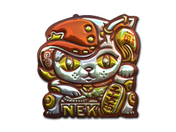 File:Csgo-sticker-lucky cat foil.png