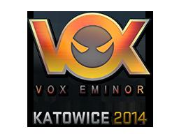 Sticker-katowice-2014-vox-holo