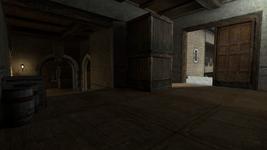 De cbble back halls-facing the courtyard