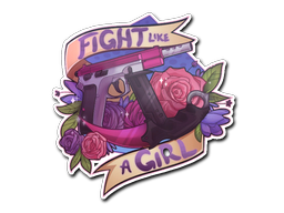 File:Csgo-community-sticker-2-fightlikeagirl large.png