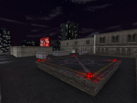 As highrise0029 Terrorist Spawn Zone-VIP Escape Zone