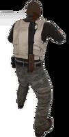 P sawedoff holster