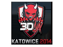 Sticker-katowice-2014-3dmax