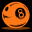 File:8ball1 orange.png