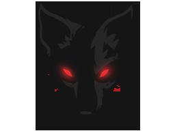 File:CS GO Flair black dog head.png