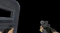 V flashbang shield
