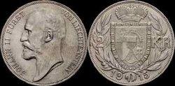 Liechtenstein 2 krone 1915