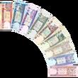 Afghan afghani notes