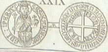 Aachen groschen 1405