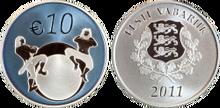 Estonia 10 euro 2011