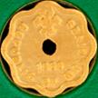 Maldives 1986 gold laari