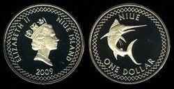 Niue 1 dollar 2009