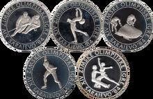 Yugoslavia 100 dinara 1984 Olympics series