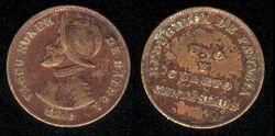 Panama 1.25 centesimos