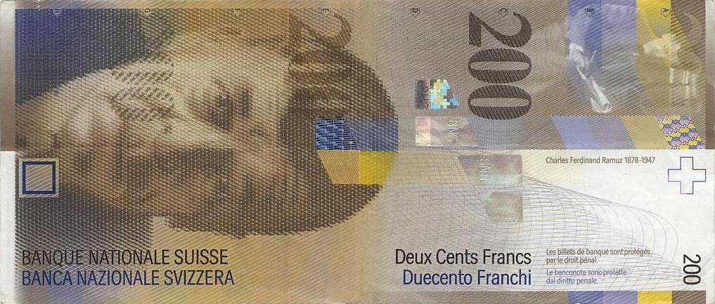 200 schweizer franken in euro