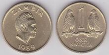Zambia kwacha 1989