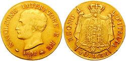 40 lire 1808