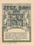 10 bani 1917 revers