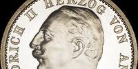 Anhalt 2 mark coin