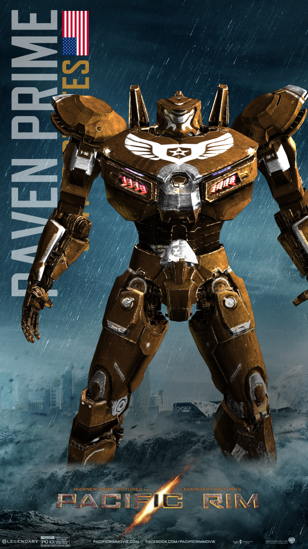 Raven Prime | Custom Pacific Rim Wiki | Fandom powered by ... Pacific Rim Robots Names