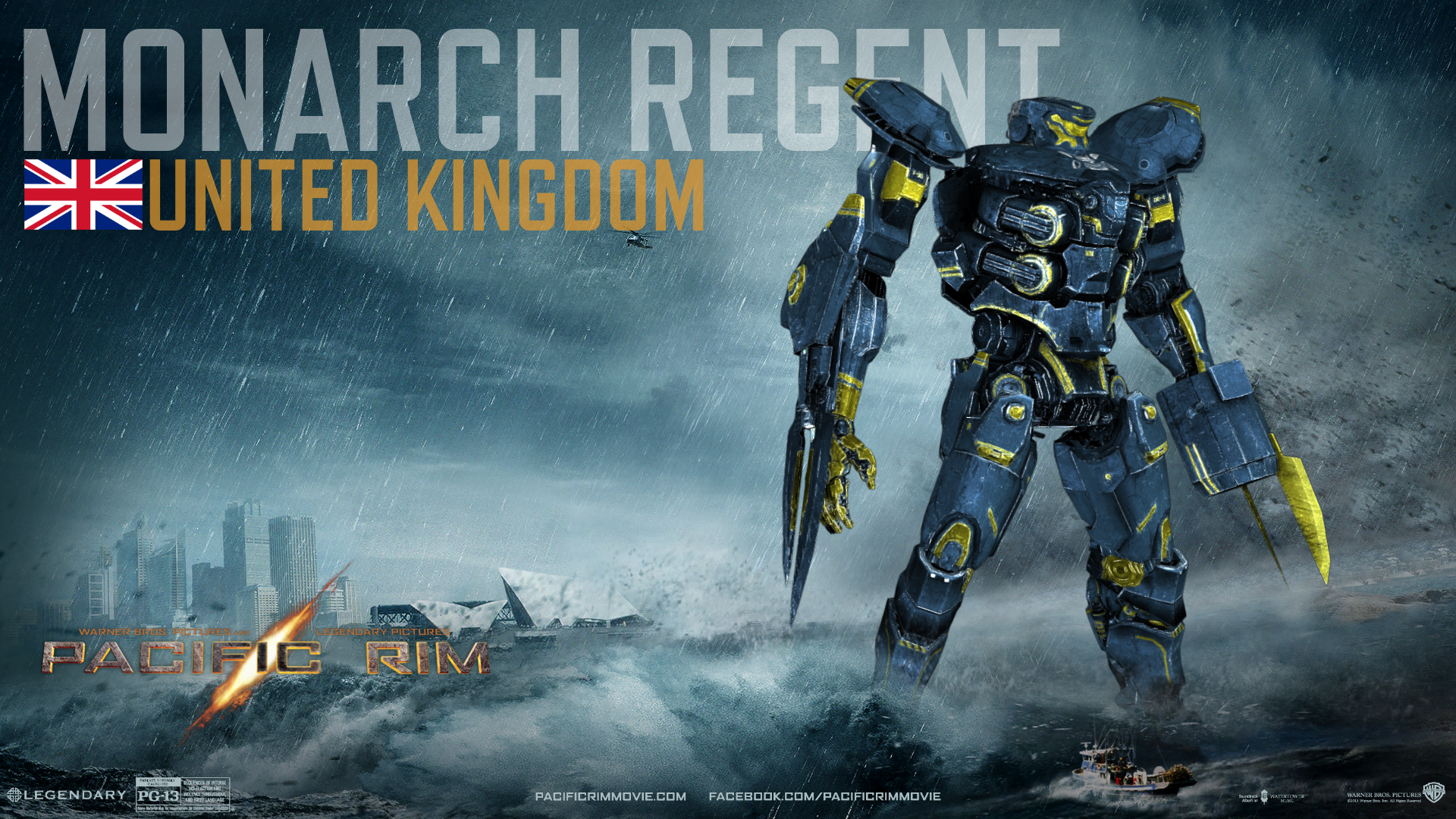 Monarch Regent | Custom Pacific Rim Wiki | FANDOM powered ... Pacific Rim Jaeger Countries