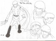 Cyborg 004-Model Sheet