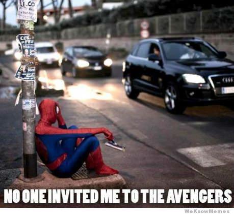 File:Nobody-invited-spiderman-to-the-avengers1.jpg