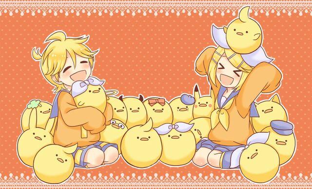 File:Rin, Len, Oranges.jpg