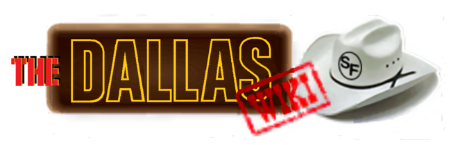Dallas Wiki White Brown wordmark
