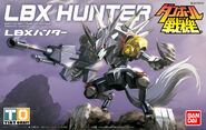 LBX Hunter Bandai Boxart