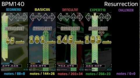 DDR X3 Resurrection - SINGLE