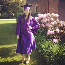 Sarah Parish HS graduation 2014-05-27