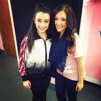 Kamryn Beck Instagram 2014 h with Gianna
