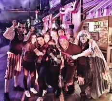 706 Girls at Halloween Horror Night