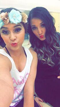 Kalani and Gianna